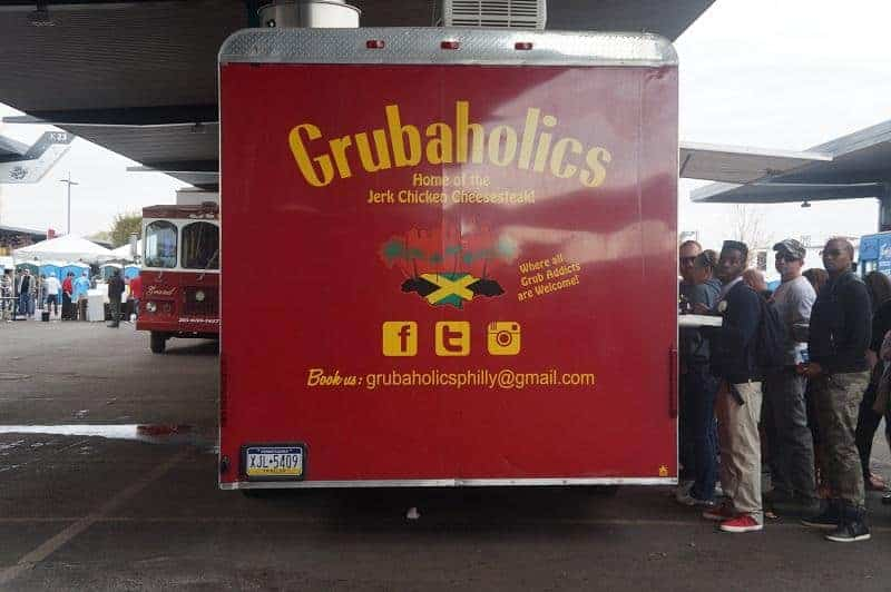 Grubaholics Truck at the philly cheesesteak festival