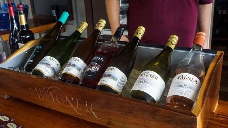 Wagner Vineyards Wines