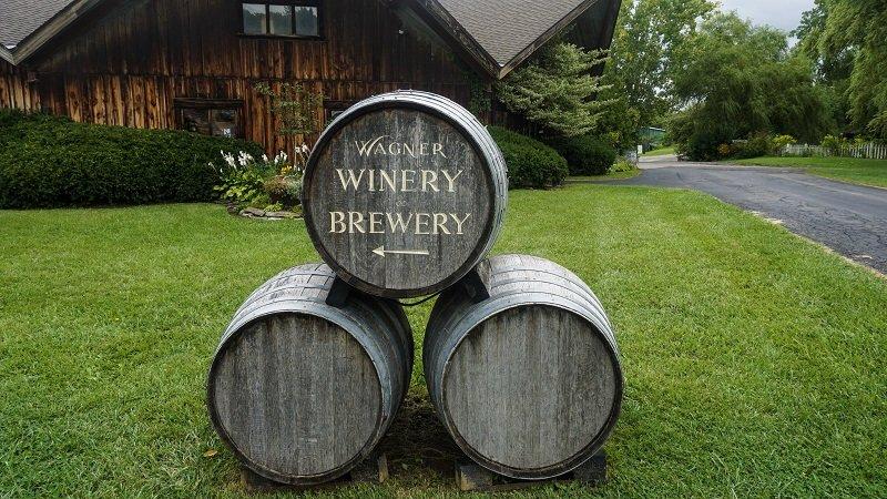Stop #1 on the Seneca Lake Wine Trail Wagner Vineyards