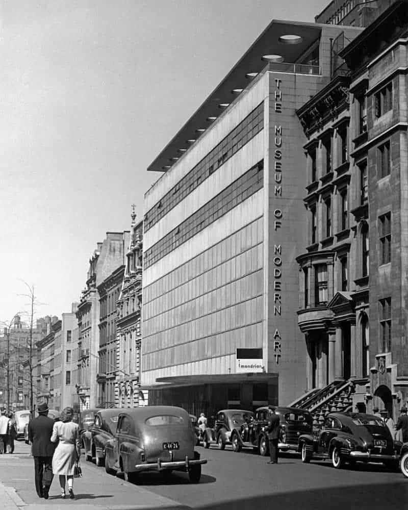 The Museum of Modern Art building, West 53 Street location, 1939