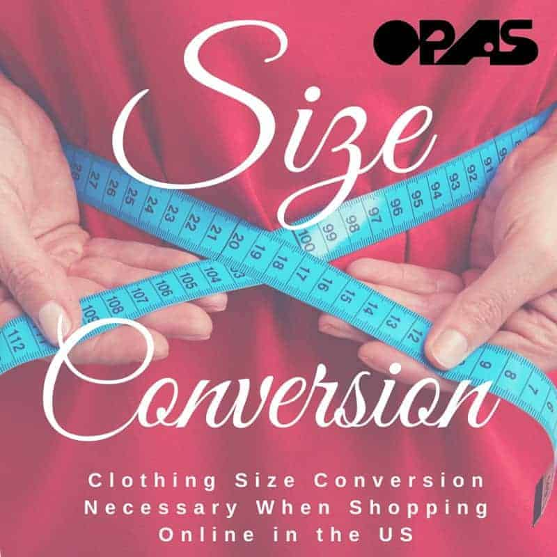 Clothing Size Conversion