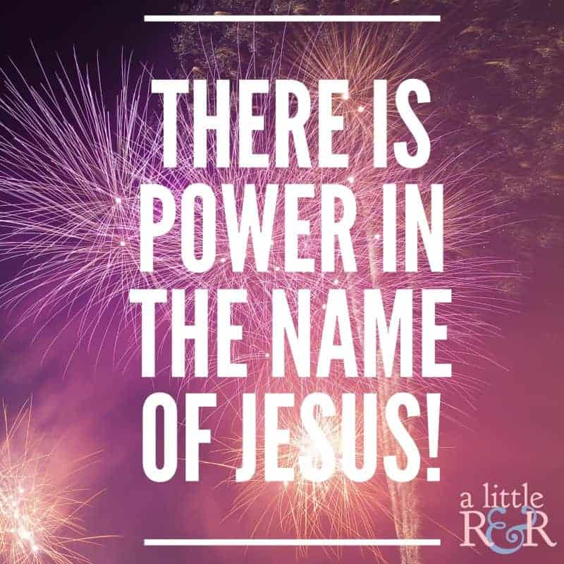 There is power in the name of Jesus! #faith #Bible #Christianliving #Christian #Jesus #warroom #spiritualwarfare
