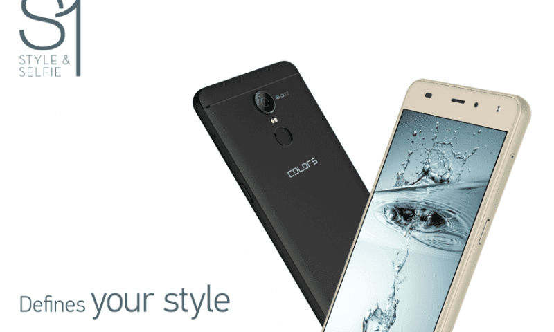 "Colors Mobile Nepal Launches ""Colors S1"" Smartphone at Rs. 9,995"