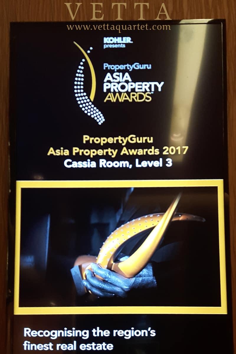 String Quartet for PropertyGuru awards night at Marina Bay Sands Cassia Ballroom
