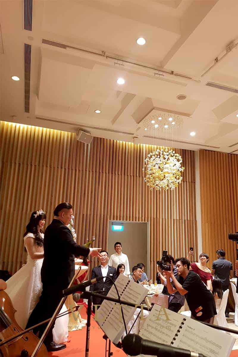 String Quartet for Wedding at Le Méridien Singapore, Sentosa