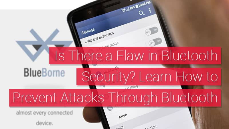 Bluetooth security
