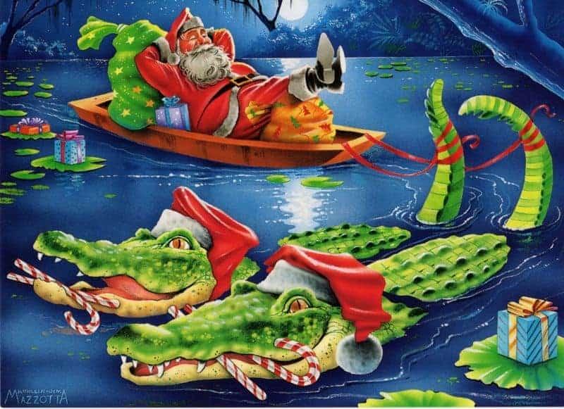 gator santa 12 Gift Ideas For Florida Travel