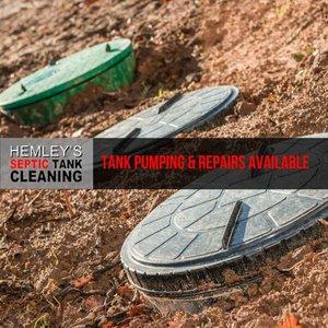 Septic Tank Pumping and Repairs
