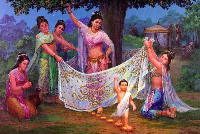 nacimiento buda gautama siddharta