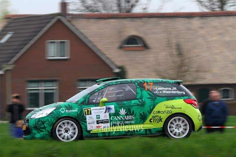 Roald Leemans & Christiaan Paul van Waardenburg - Citroën DS3 R3T - Visual Art Rally 2018
