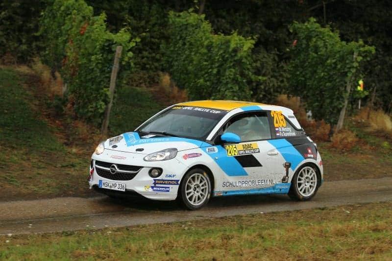 Martin Menzing & Peter van Teunenbroek - Opel Adam - ADAC Rallye Deutschland 2018