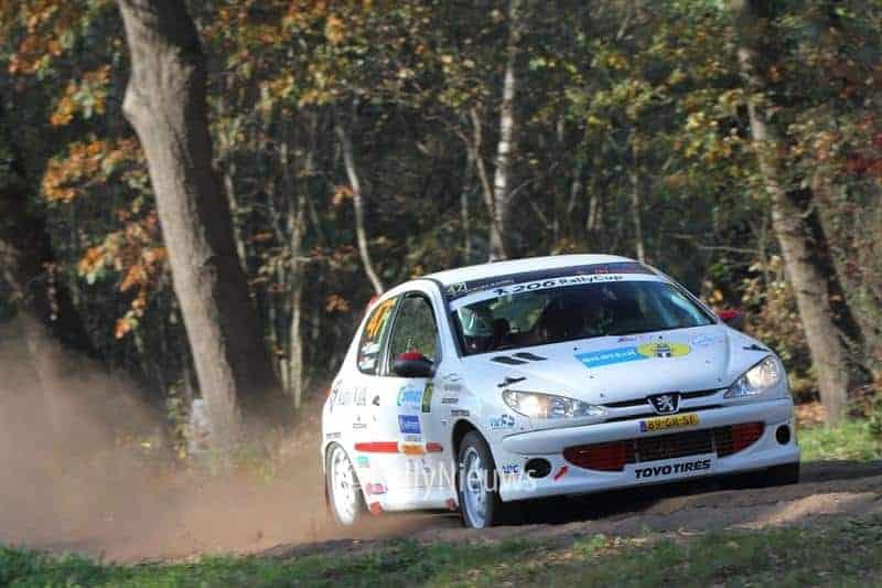 Dylan Teiwes & Johan Teiwes - Peugeot 206 - Twente Rally 2018