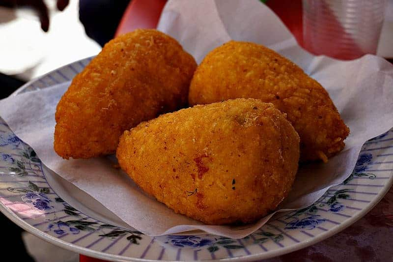 Street Food: Arancini