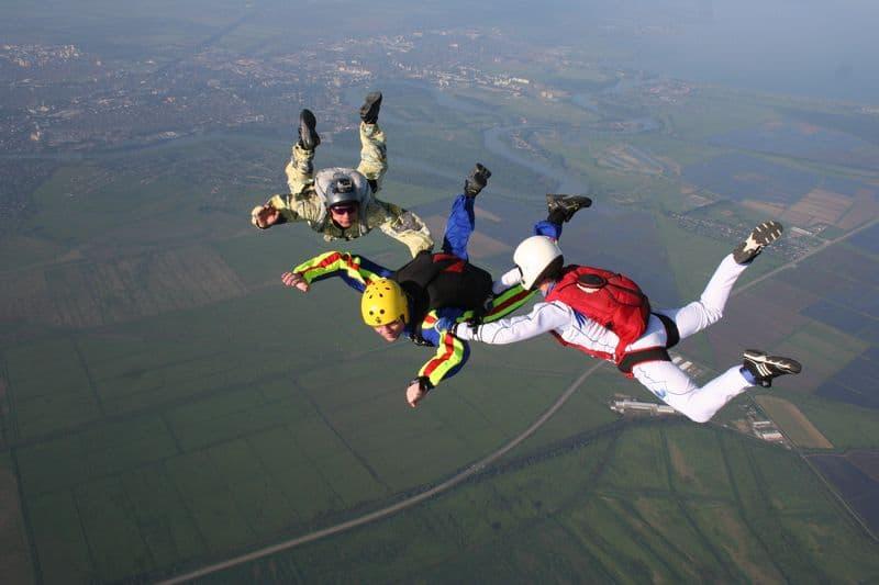 затяжные прыжки