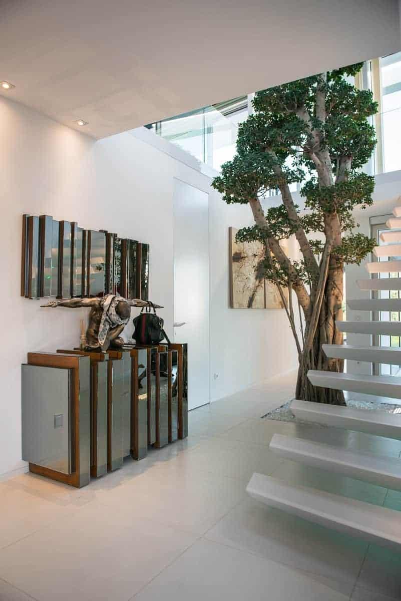 Atrium mit Baum