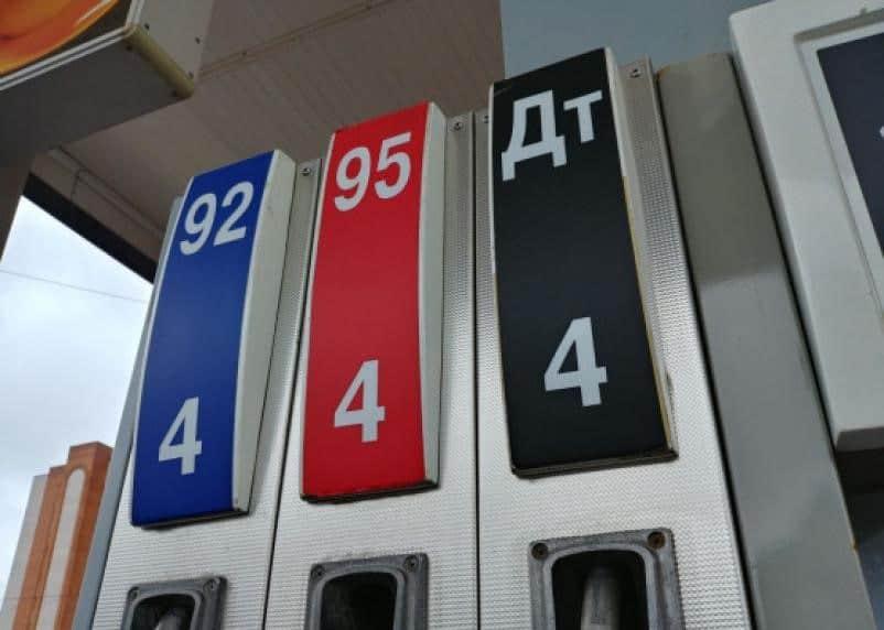 На смоленских АЗС «заморозились» цены на топливо