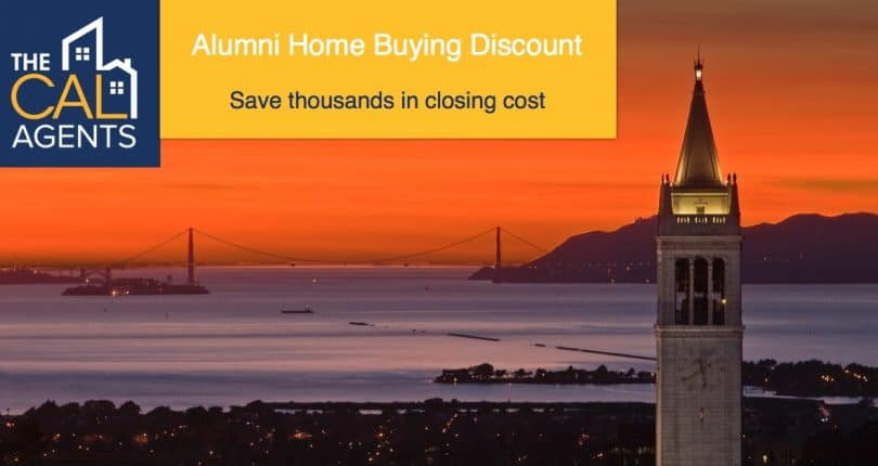 Cal alumni special: save $3k to $10k+ in closing costs