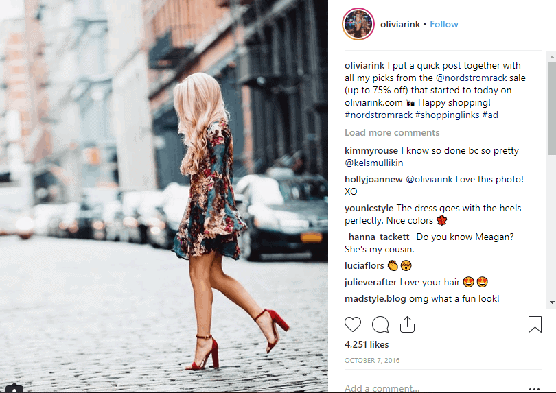 Nordstrom Rack instagram Affiliate Marketing Strategies