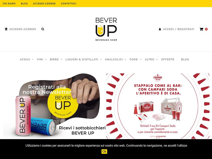 BeverUP - Beverage Shop beverup
