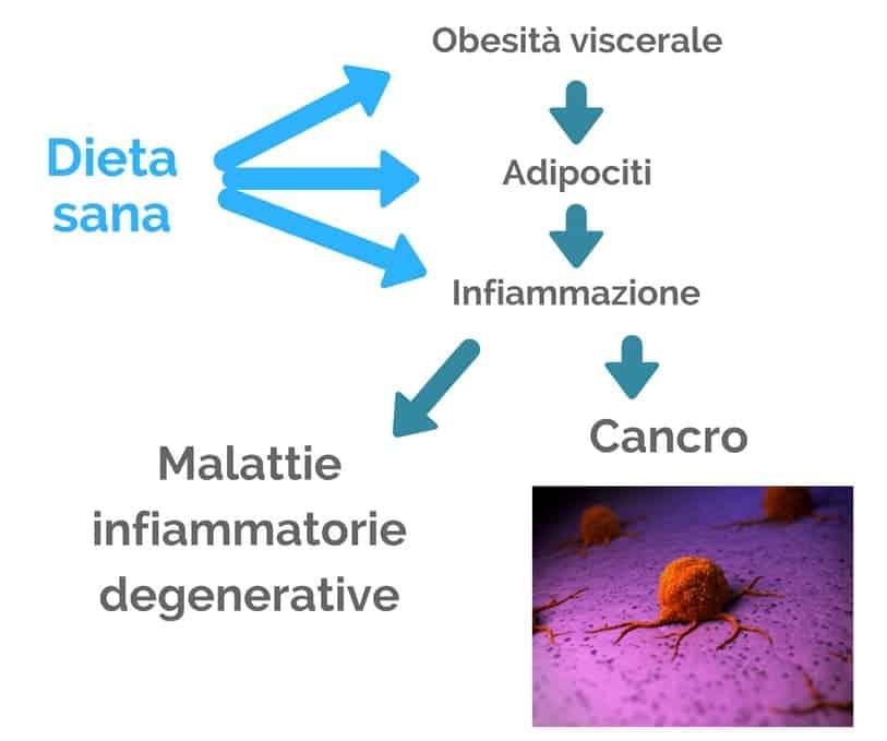 Dieta infiammazione e cancro