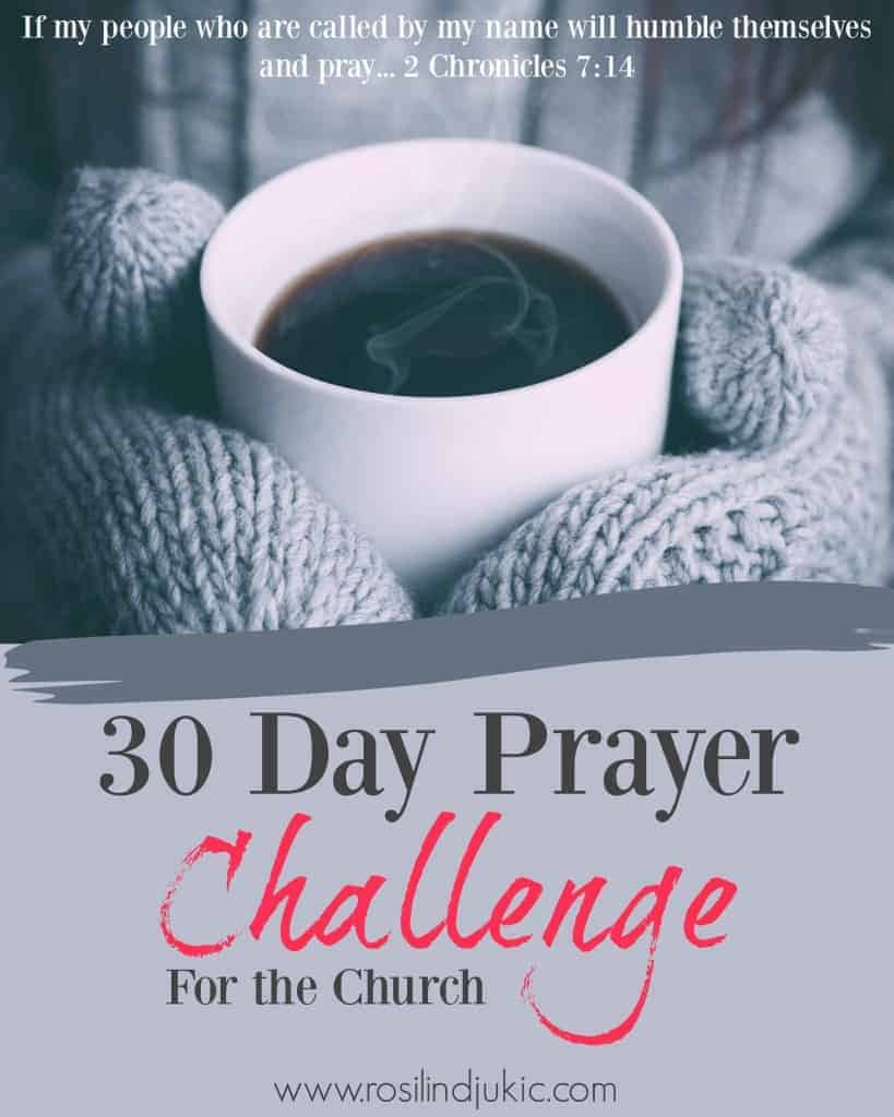 Start lifting up your church today as you pray through God's Word with this 30 Day Prayer Challenge! 30 Prayers from the Word to inspire your prayer life.