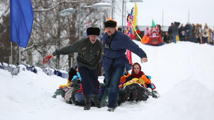 Масленица 2018 в Московской области