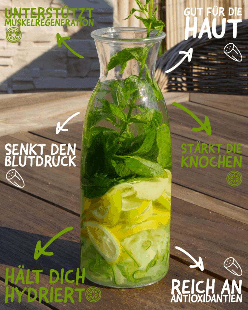 Deshalb ist Gurkenwasser so gesund