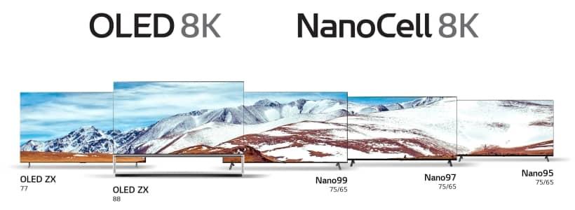 Nueva gama LG 8K CES 2020