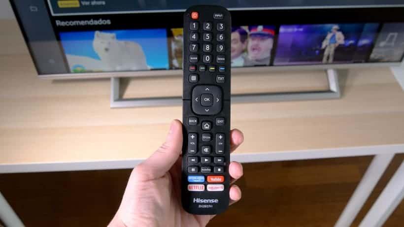 Mando a distancia TV Hisense AE7400F