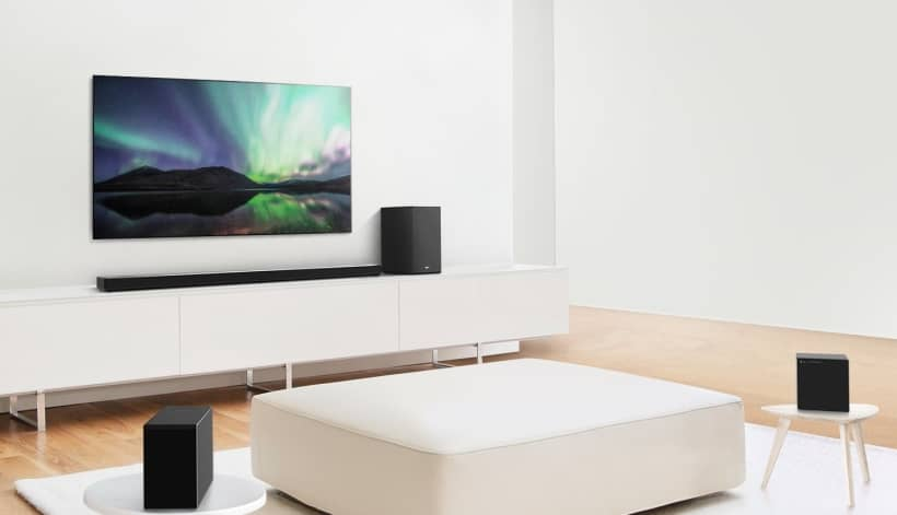 Nuevas barras de sonido LG SN11RG y SN9YG 2020