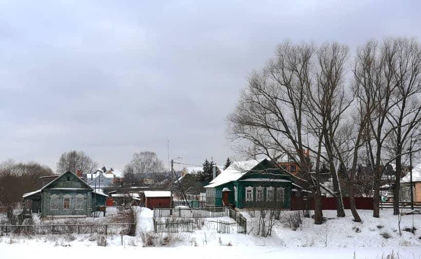 Деревня Московская область