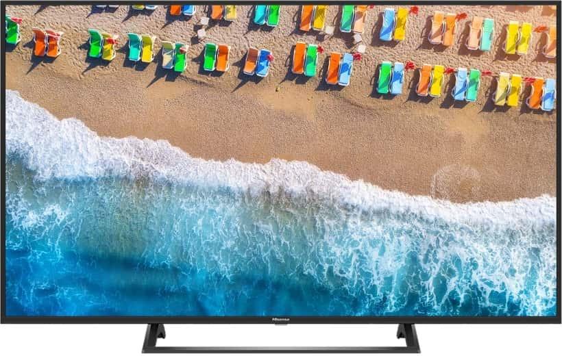 Nuevo televisor Hisense BE7200 UHD 2019