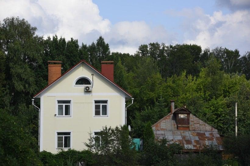 Старый и новый дома. Снт Березка 4