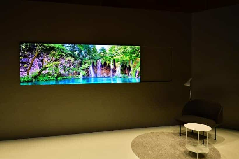 Samsung The Wall MicroLED CES 2019