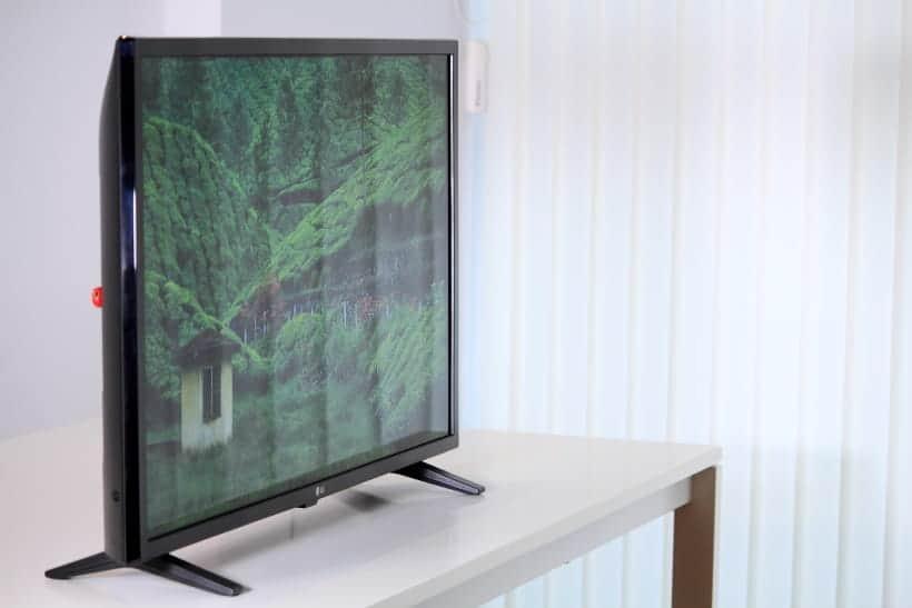 TV LG 32LM6300 reflejos en pantalla
