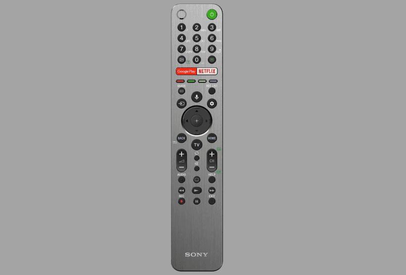 Mando Sony XG9505 con control por voz