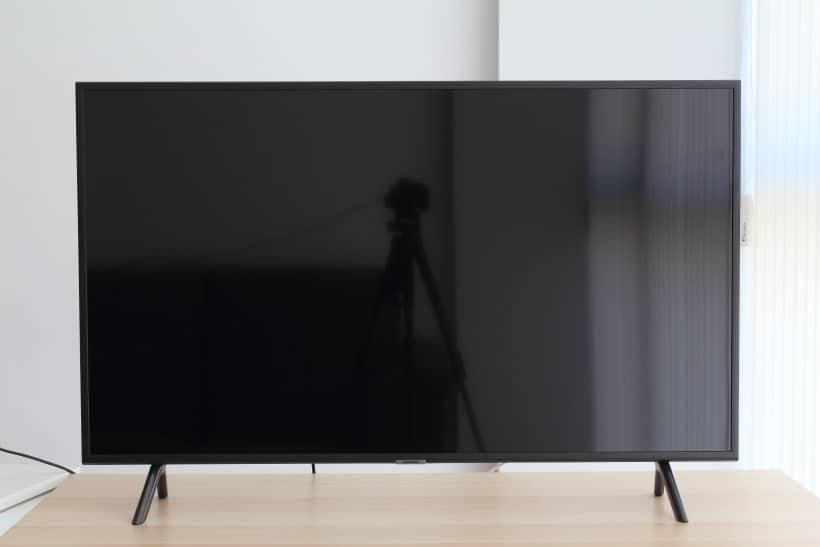 Reflejos en TV Samsung RU7105
