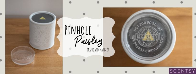 Scentsy Pinhole Paisley Warmer - perfect gift idea