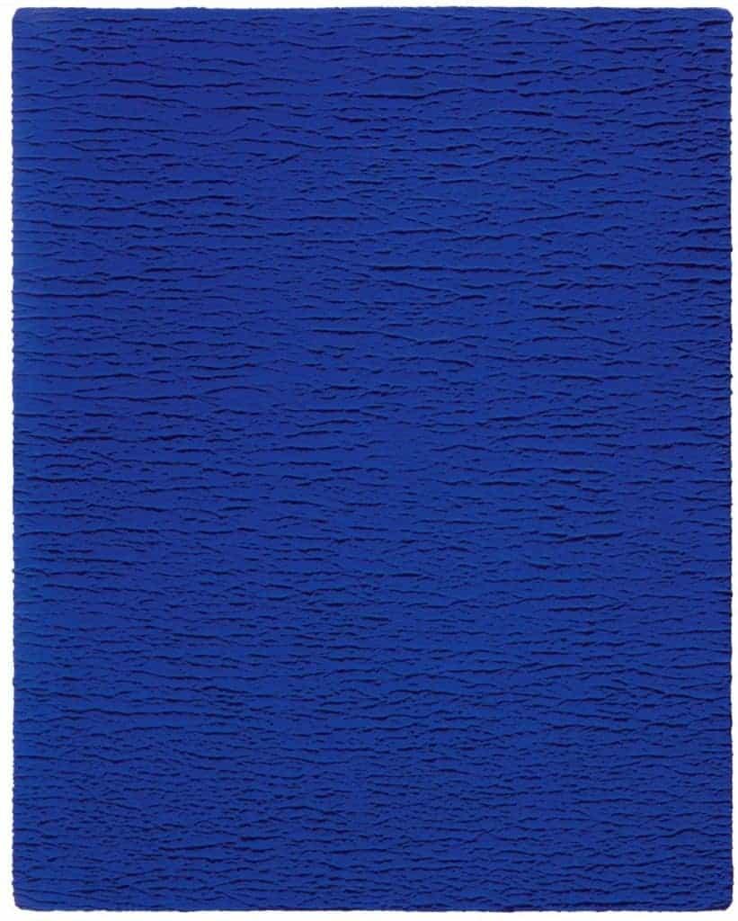 Untitled Blue Monochrome (IKB 67) (1959) by Yves Klein