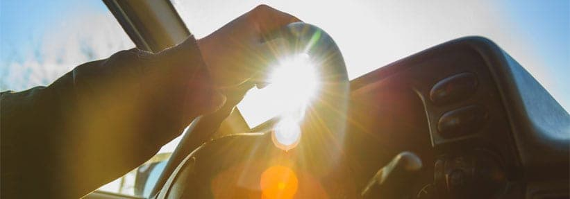 DC Car Accident Lawyers discuss the dangers of sun glare while driving.