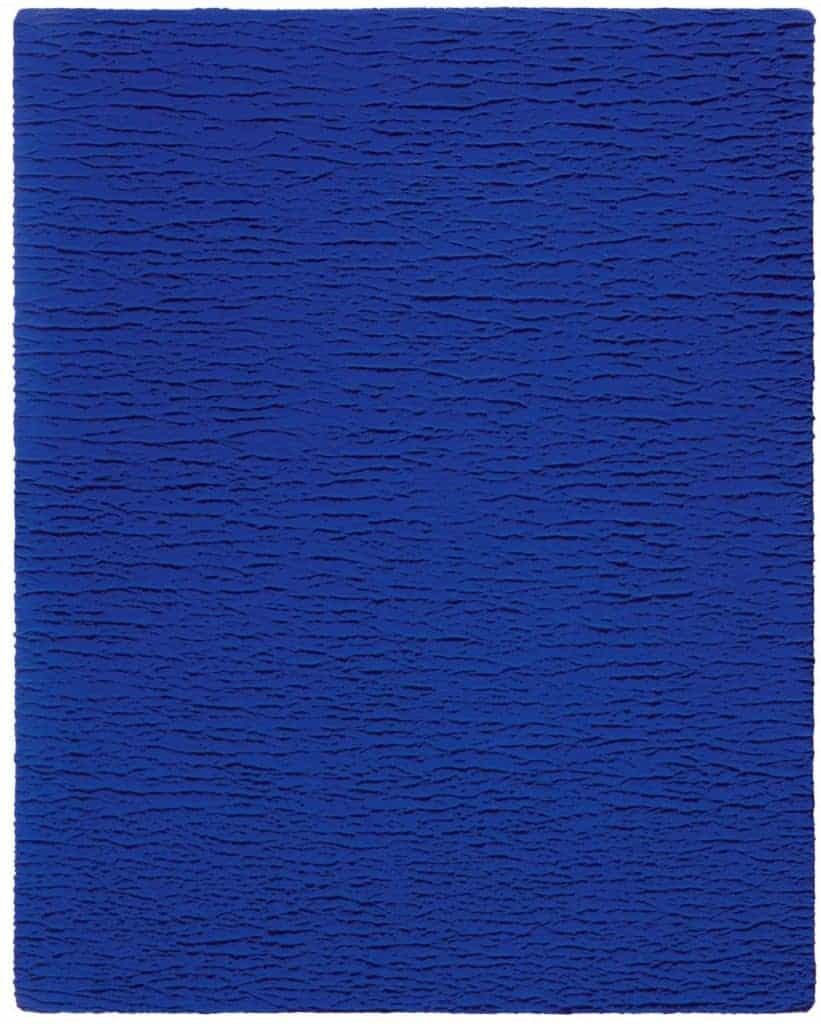 Untitled Blue Monochrome (IKB 67) (1959) by Yves Klein