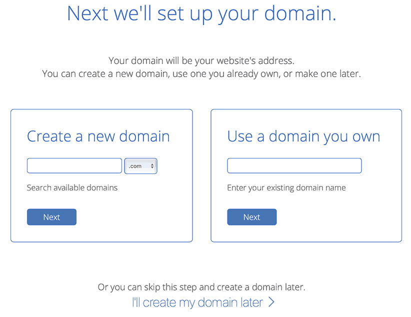 bluehost coupon choose free domain
