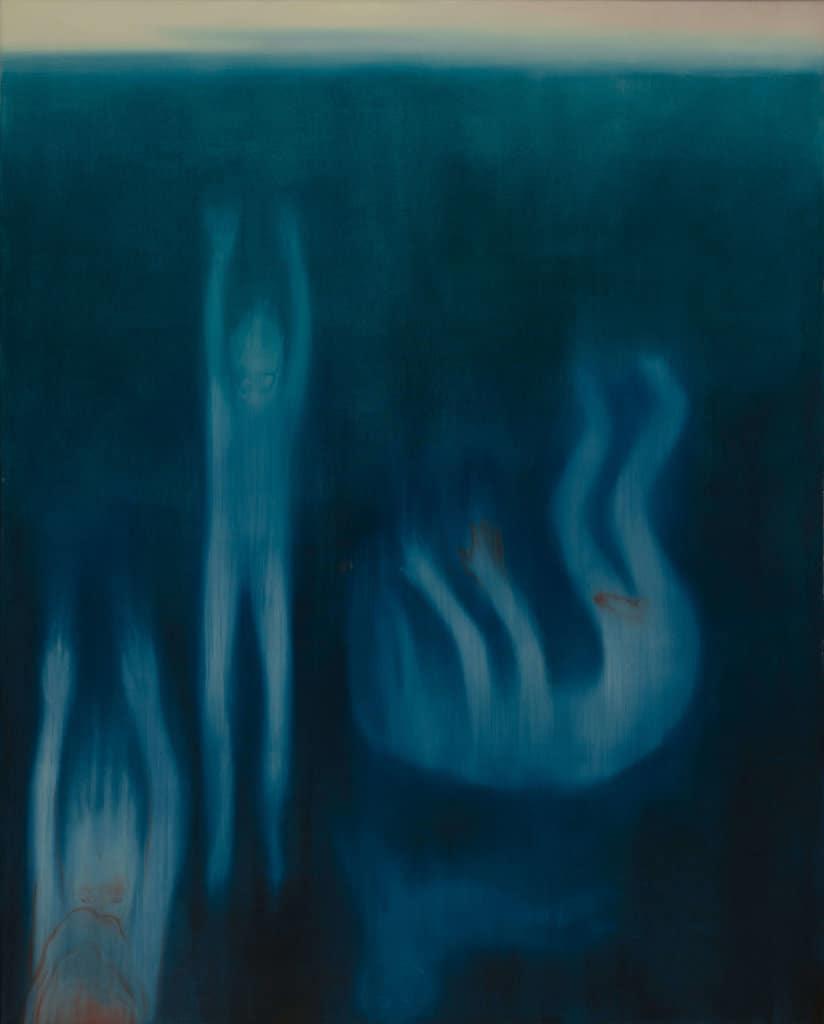 Miriam Cahn blau