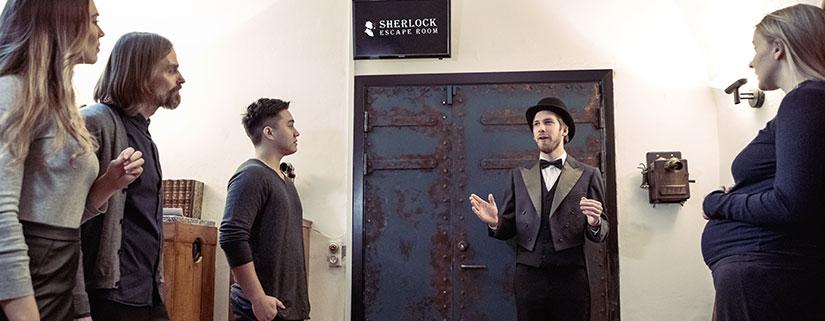 Sherlock Escape Room