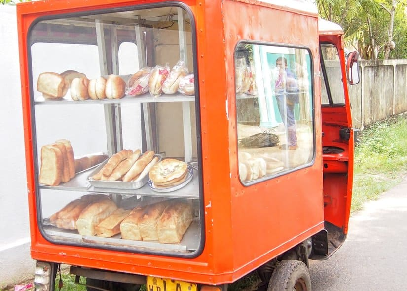 Sri Lankan Food Truck for Baked Goods and Short Eats or Shorties