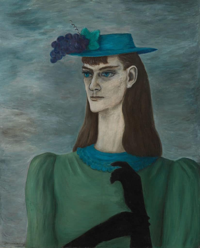 Gertrude Abercrombie, Self-Portrait of My Sister, 1941.