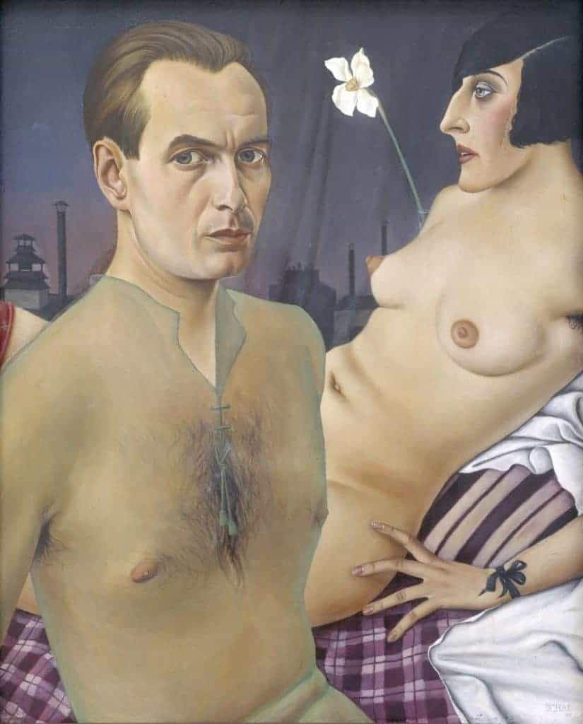 Christian Schad - Self-Portrait - 1927