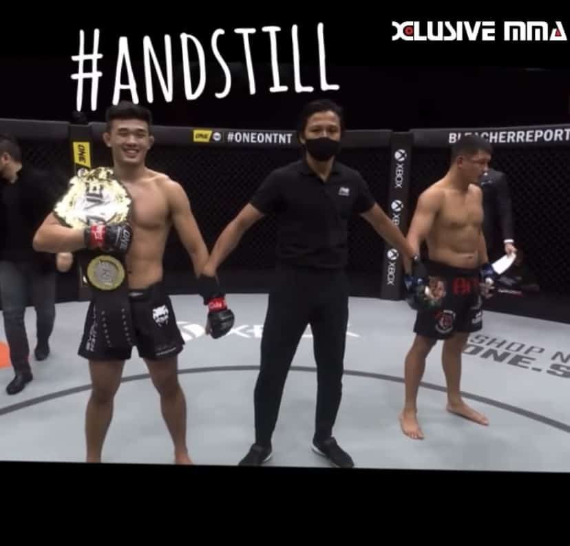 Christian Lee And still One Championship Lightweight Champ