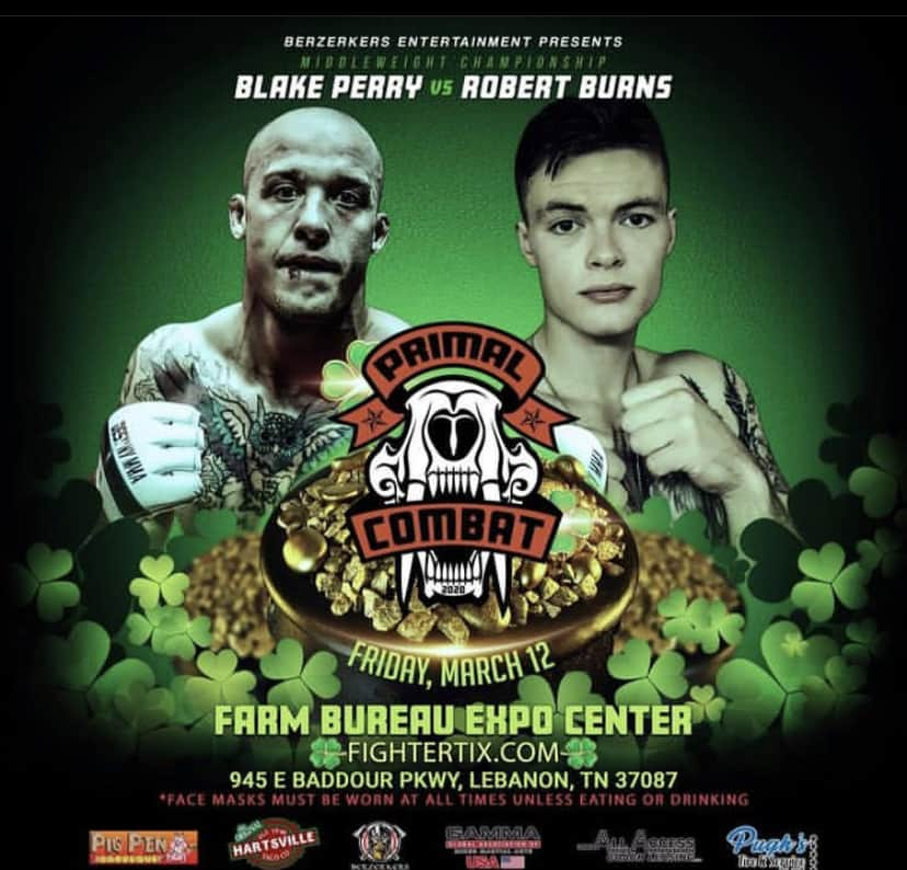 Hawaii MMA News Blake Perry vs Robert Burns