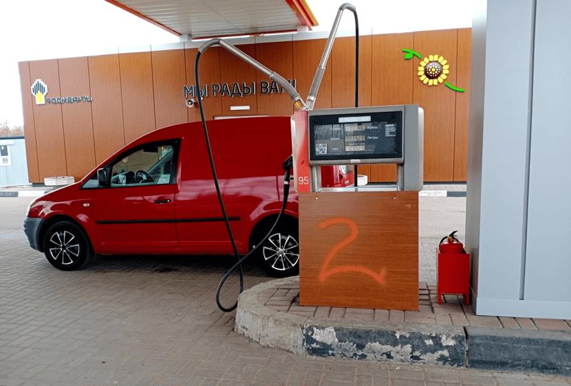 Апгрейд топливо-раздаточных колонок на АЗС Роснефть